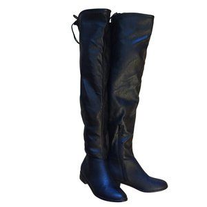 Over The Knee Stretch Boots, Call It Spring